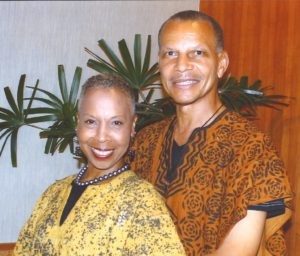 "Terri & George Rainey, Owners, International African Pageant Franchise, ""Nubian Pageant Systems"""