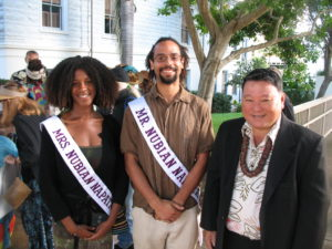 Mr. & Mrs. Napata Maui with Mayor - 2011